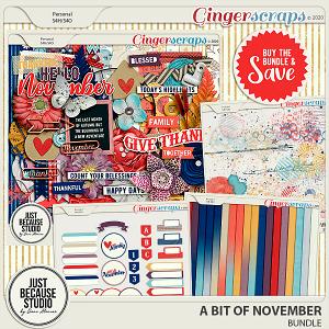 A Bit Of November Bundle by JB Studio