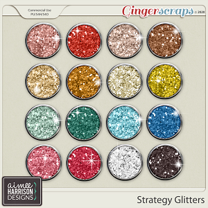 Strategy Glitters by Aimee Harrison