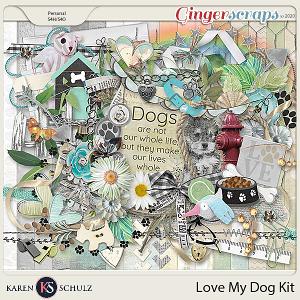 Love My Dog Kit by Karen Schulz
