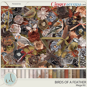 Birds Of A Feather Mega Kit by Ilonka's Designs
