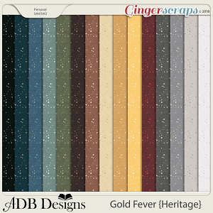 Gold Fever Heritage Starry Papers