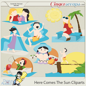 Doodles By Americo: Here Comes The Sun Cliparts