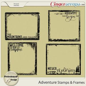 Adventure Stamps & Frames