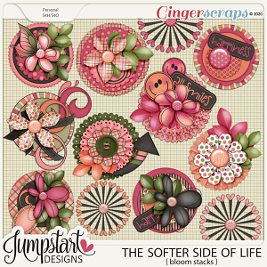 The Softer Side of Life {Bloom Stacks} by Jumpstart Designs