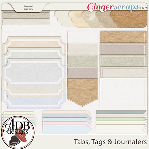 Heritage Resource - Tabs, Tags & Journalers by ADB Designs