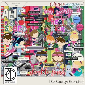 Be Sporty: Exercise