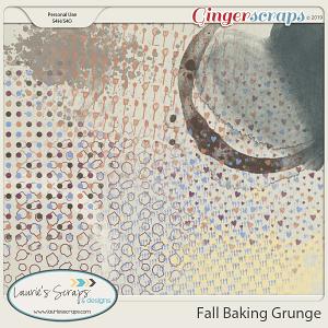 Fall Baking Grunge