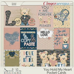 You Hold my Heart Pocket Cards