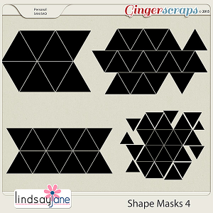 Shape Masks 4 by Lindsay Jane