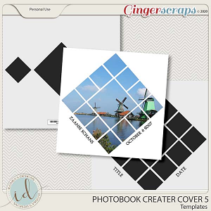 Photobook Creater Cover 5 by Ilonka's Designs