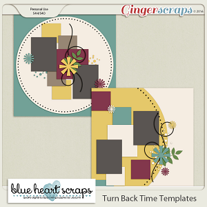 Turn Back Time Template Pack