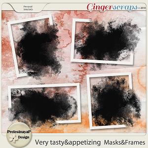 Very tasty & appetizing Masks&Frames