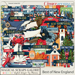 Best of New England (page kit)