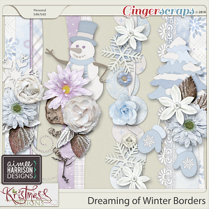 Dreaming of Winter Borders by Aimee Harrison and Kristmess Designs