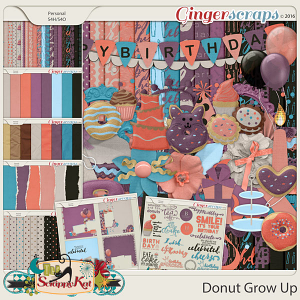 Donut Grow Up Bundle by The Scrappy Kat