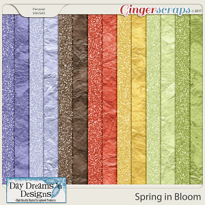 Spring in Bloom {Glitters} by Day Dreams 'n Designs