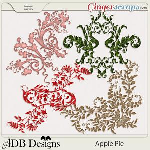 Apple Pie Flourishes by ADB Designs