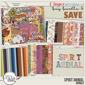 Spirit Animal - Bundle - by Neia Scraps