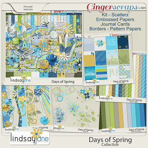 Days of Spring Collection by Lindsay Jane