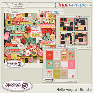 Hello August - Bundle
