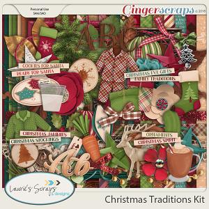 Christmas Traditions Page Kit