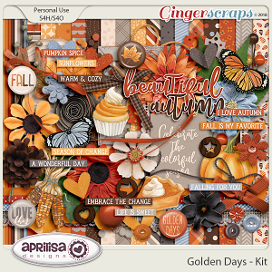 Golden Days - Kit by Aprilisa Designs