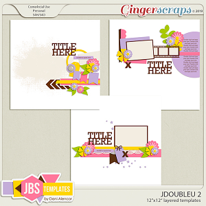JDoubleU 2 Templates by JB Studio