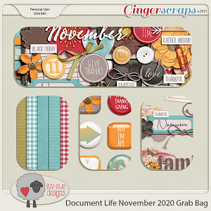 Document Life November 2020 Grab Bag by Luv Ewe Designs