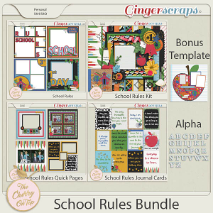 The Cherry On Top School Rules Bundle