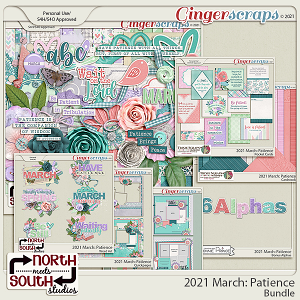 2021 March: Patience Bundle by North Meets South Studios