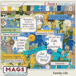 Family Life KIT by MagsGraphics