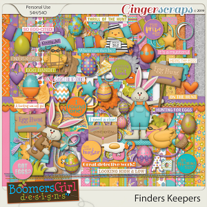 Finders Keepers by BoomersGirl Designs