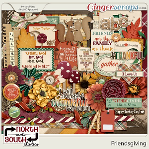 Friendsgiving Collab Kit by North Meets South Studios