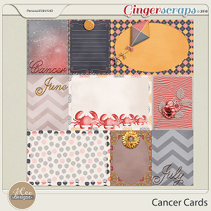 Cancer Cards by JoCee Designs
