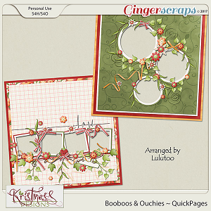 Booboos & Ouchies QuickPages