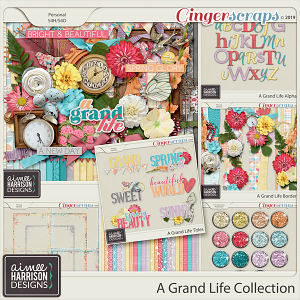 A Grand Life Collection by Aimee Harrison