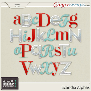 Scandia Alpha Sets by Aimee Harrison