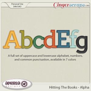 Hitting The Books - Alpha by Aprilisa Designs.