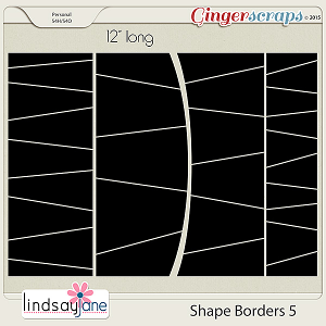Shape Borders 5 by Lindsay Jane