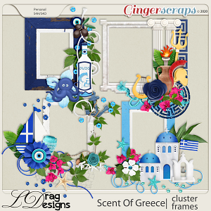 Scent Of Greece: Cluster Frames by LDragDesigns