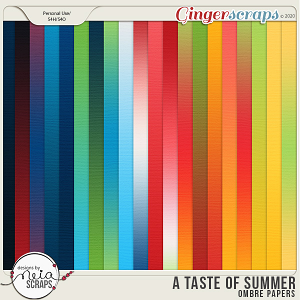 A Taste of Summer - Ombre Papers - by Neia Scraps
