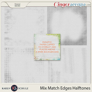 Mix Match Edges Halftones by Karen Schulz
