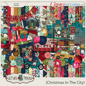Christmas in the City by Scraps N Pieces