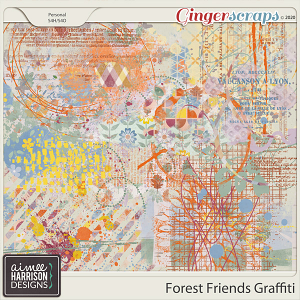 Forest Friends Graffiti by Aimee Harrison