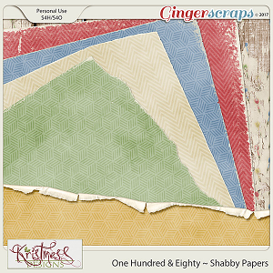 One Hundred & Eighty Shabby Papers