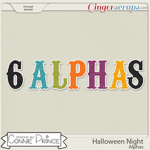 Halloween Night - Alpha Pack AddOn by Connie Prince