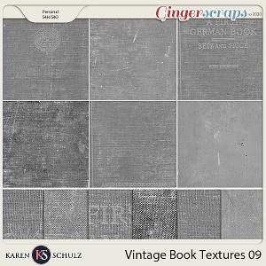 Vintage Book Textures 03 by Karen Schulz