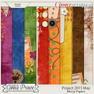 Project 2015 May - Messy Paper Pack
