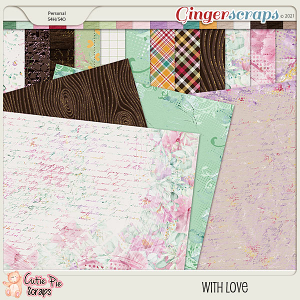 With Love- Papers By Cutie Pie Scraps