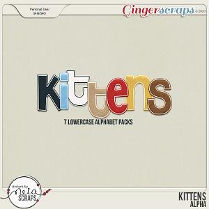 Kittens - Alpha - by Neia Scraps